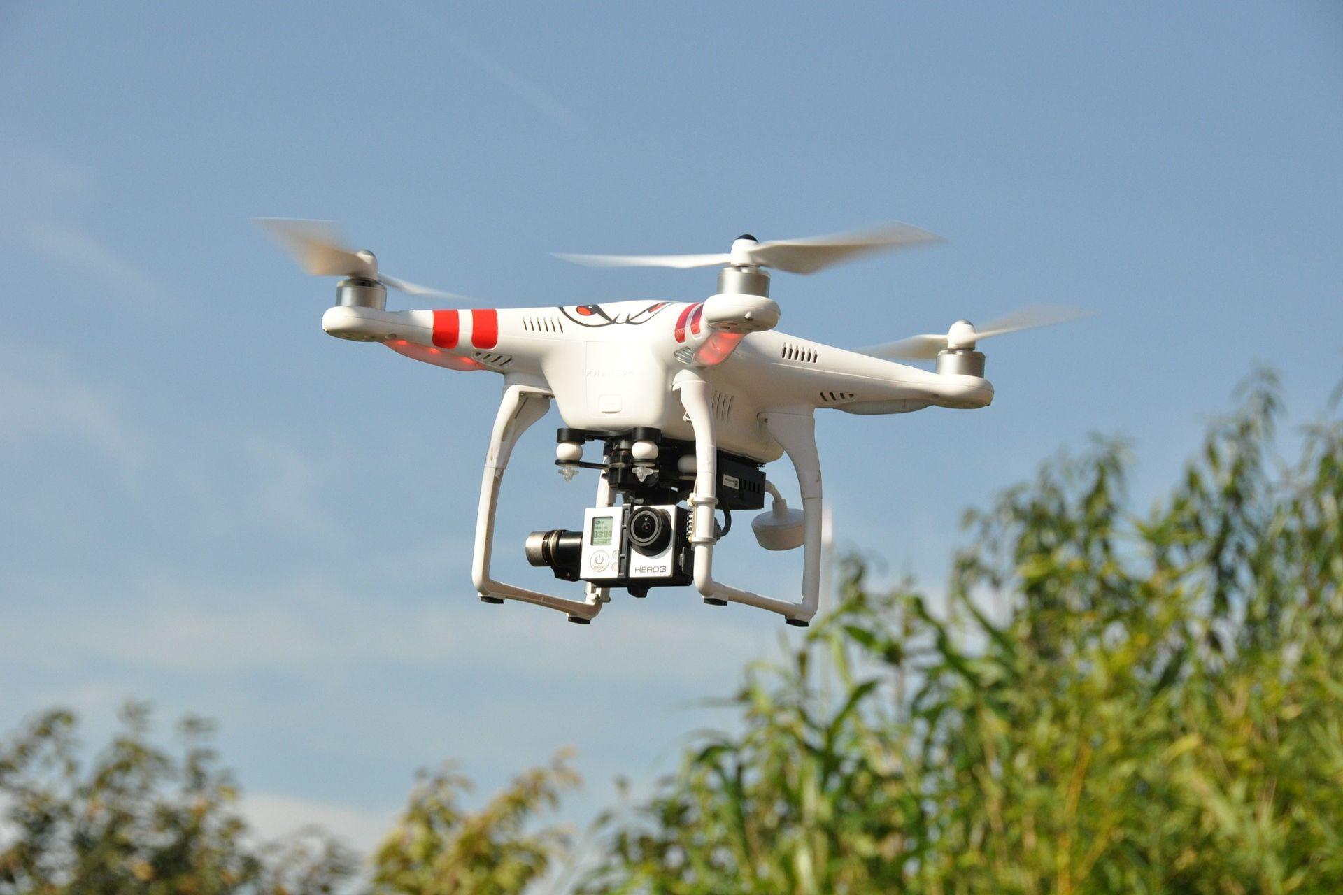 Drohne Test : Drohne mit Kamera
